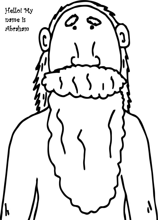 abraham and sarah coloring pages # 13