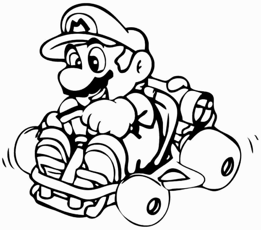 25 Mario Brothers Coloring Pages Compilation