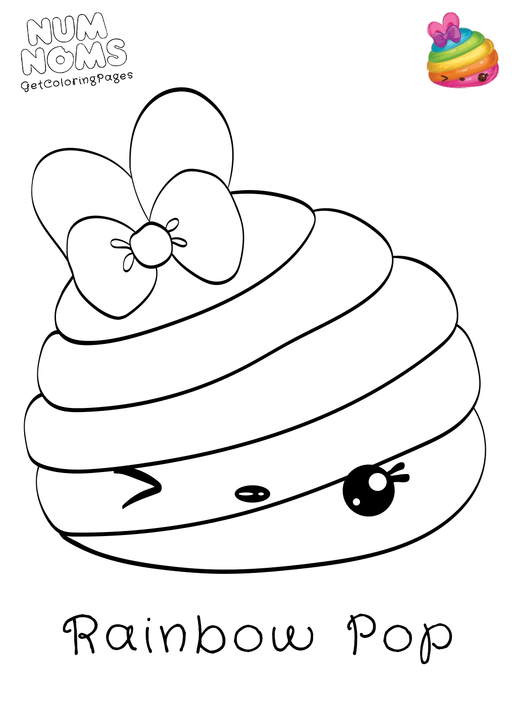 Num Noms Coloring Pages Coloring Pages