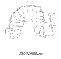 20 Very Hungry Caterpillar Coloring Page Printable   FREE ...