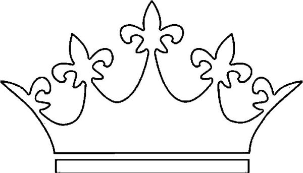 crown coloring pages # 61