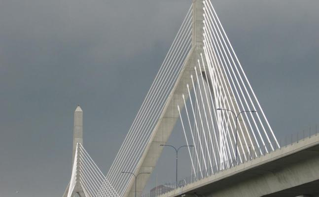 The Leonard P. Zacum Bunker Hill Bridge, Boston, 2010