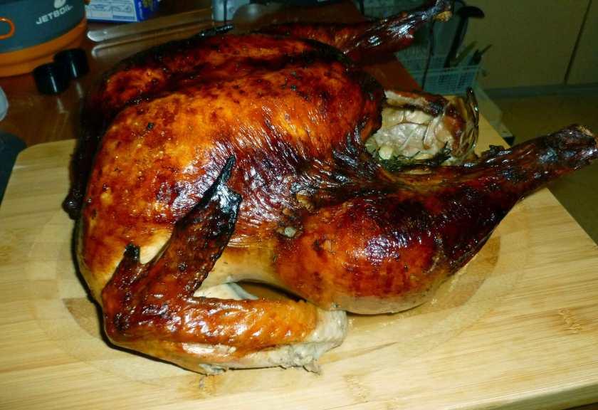 Turkey on Cutting Board