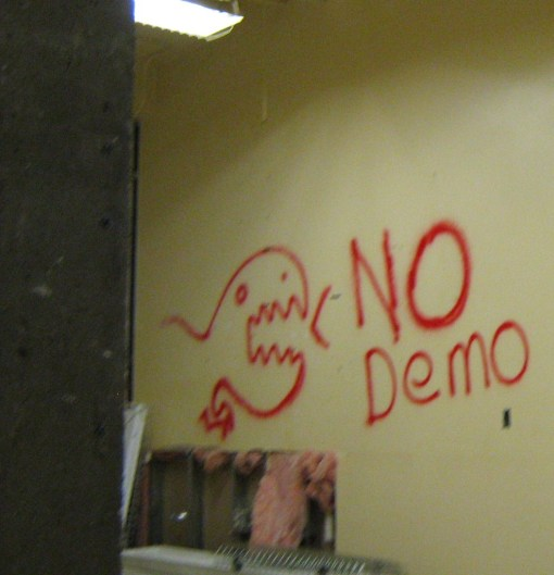 Pacificst Dinosaur graffiti.  Because.