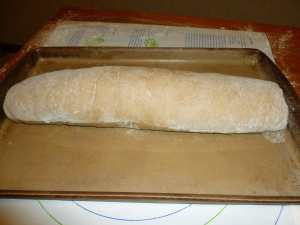 Completed Bread Roll