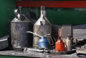 Oil Cans, photo by Ian Britton (creative commons license)