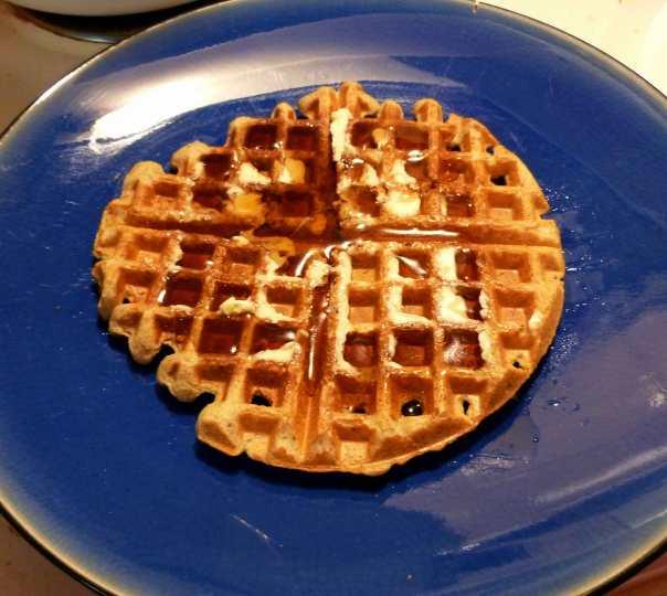 Gluten Free and Dairy Free Buttermilk Waffles