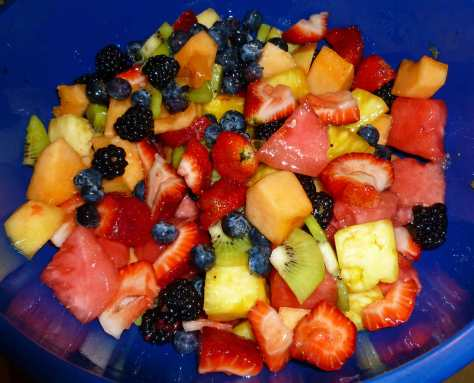 Margarita Tropical Fruit Salad