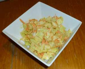Reinvention of Mom's Coleslaw