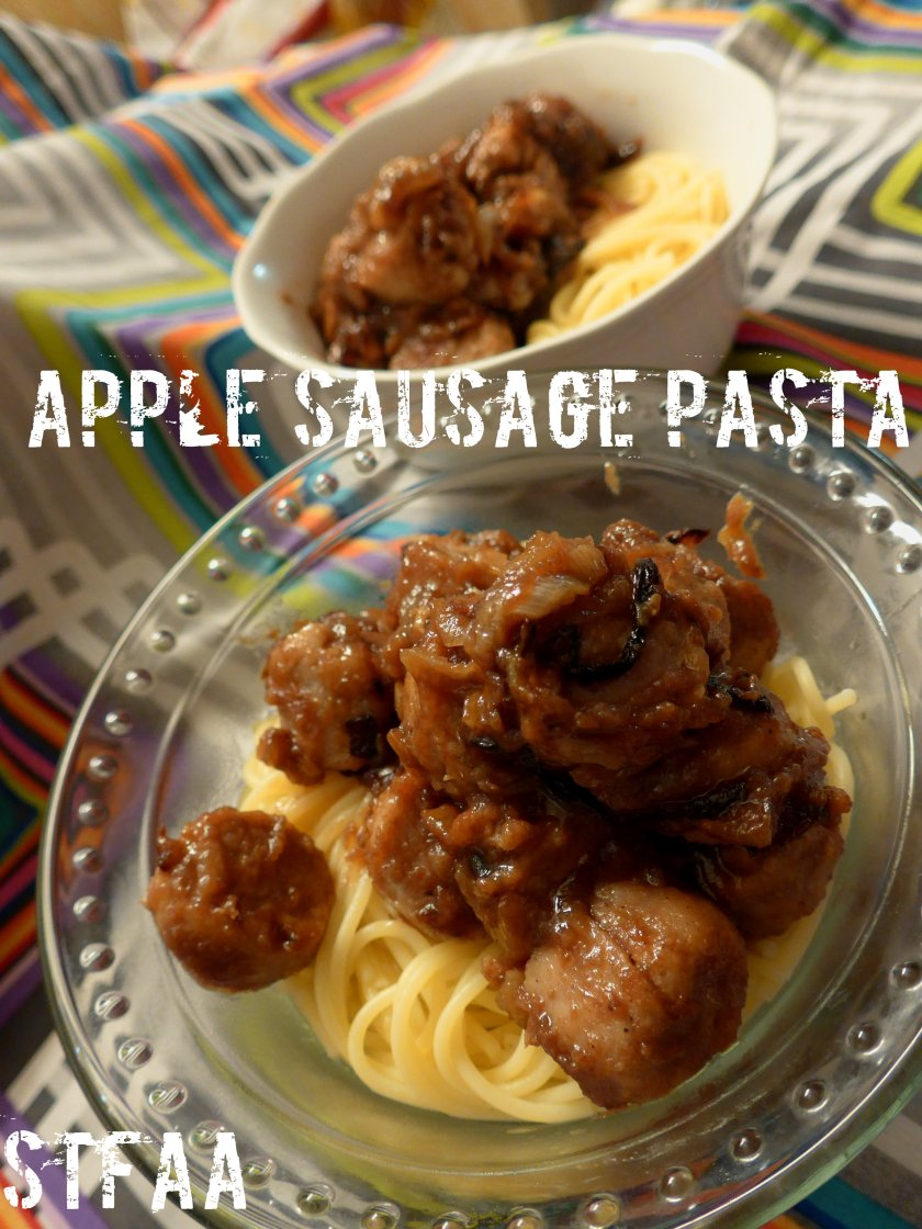 Apple Sausage Pasta