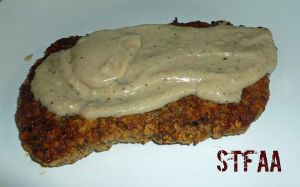 Chicken Fried Steak with White Pepper Gravy