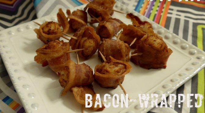 Bacon-Wrapped Potato Bites