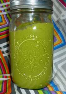 Cilantro Avocado Salad Dressing or Sauce