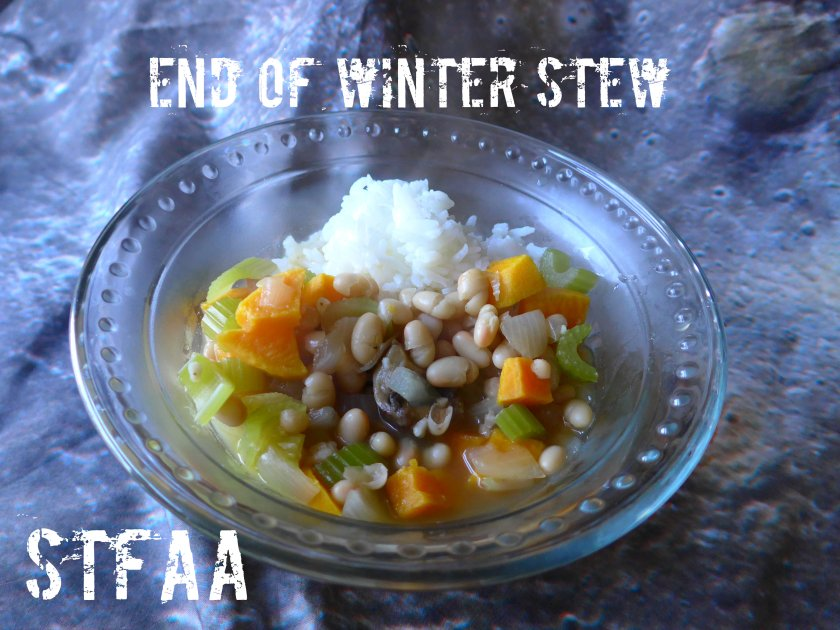 End of Winter Stew with Rice