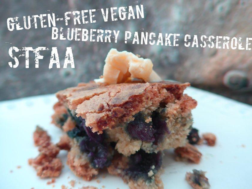 Blueberry Pancake Casserole