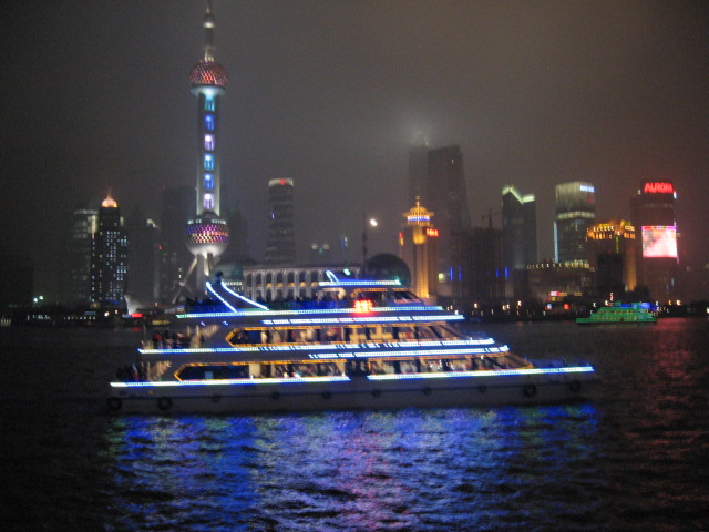 The Bund, Modern side. Shanghai, 2009