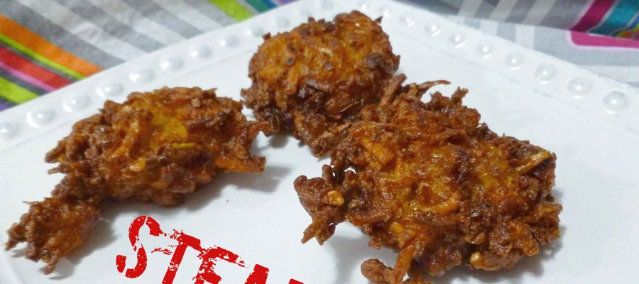 Garlic and Onion Pakoras