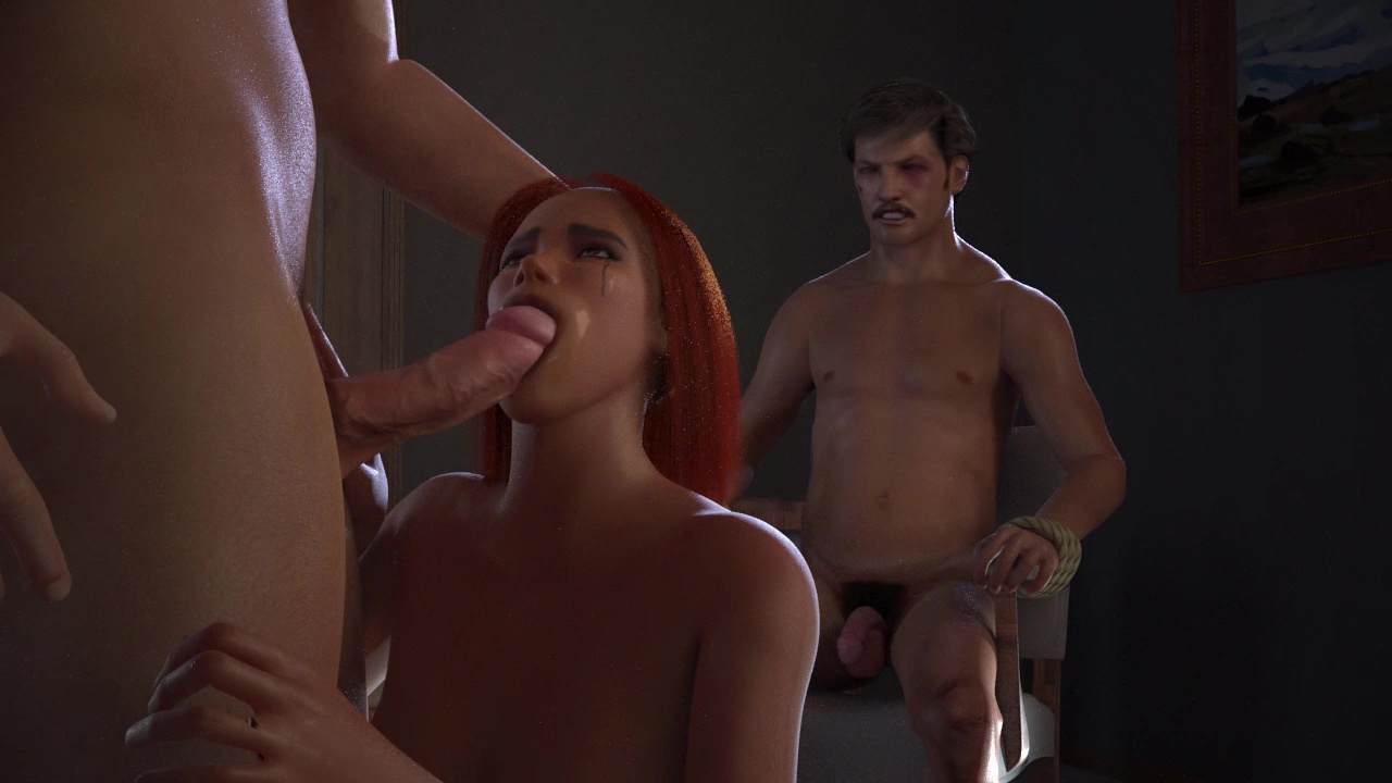 threesome in narcos xxx game
