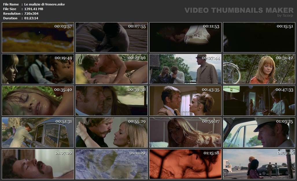 Le malizie di Venere 1969 DVDRip 1400MB  free download