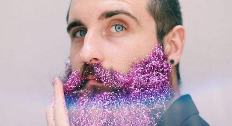 Handsome Glitter Beard