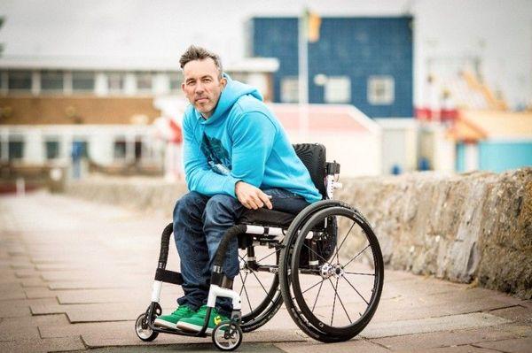 Blue Jumper Paraplegic