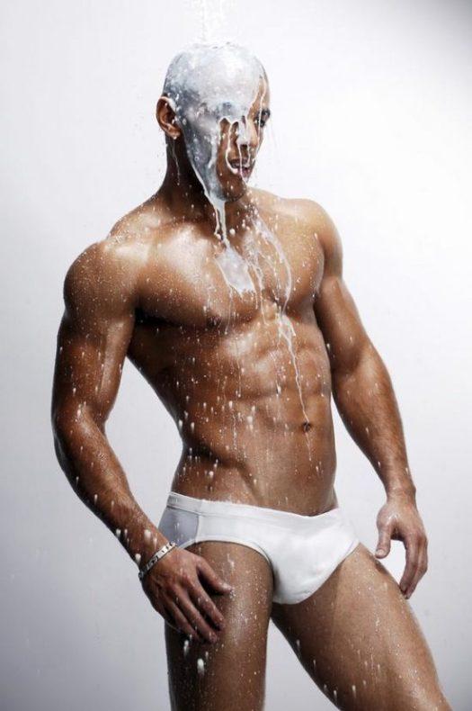 Milk Spilling Over Himself