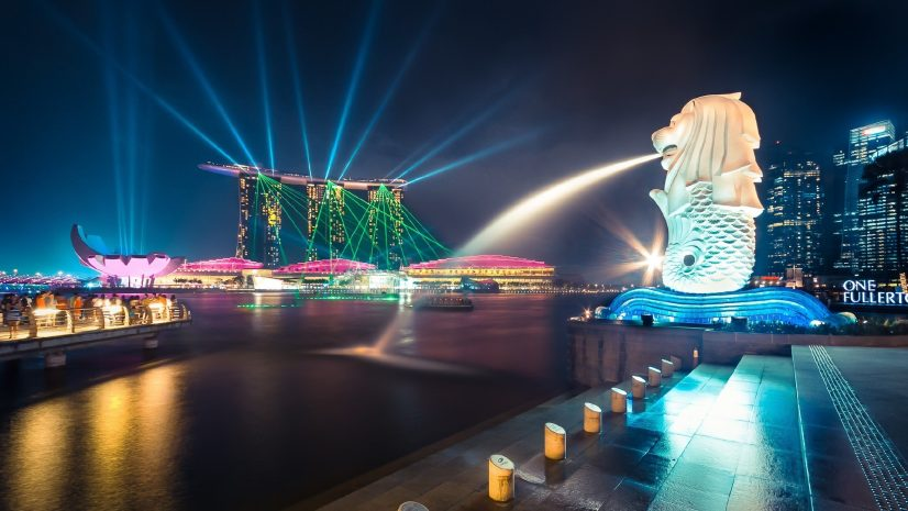 Singapore Lion Night Life