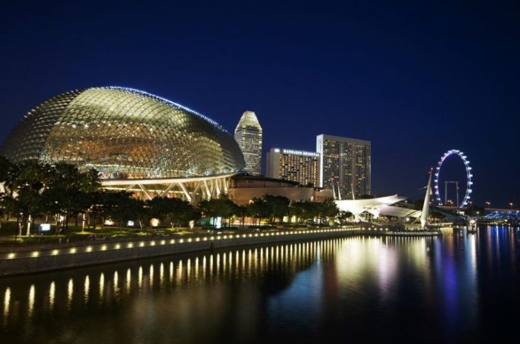 Theatre Singapore Night Time