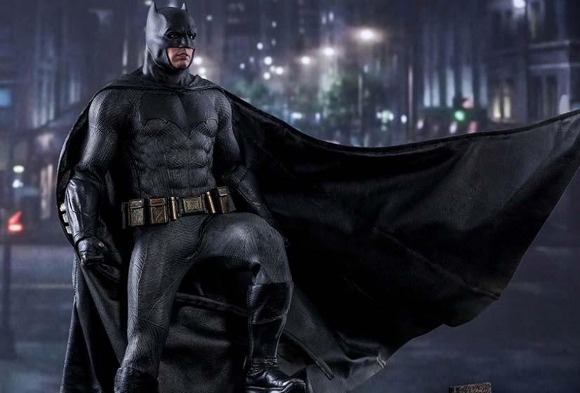 Batman's penis outline