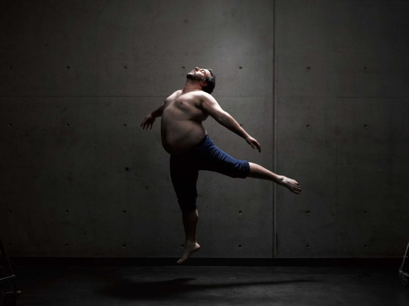 Fat Acceptance Man Model Photoshoot