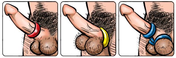 Three ring cock ring danger