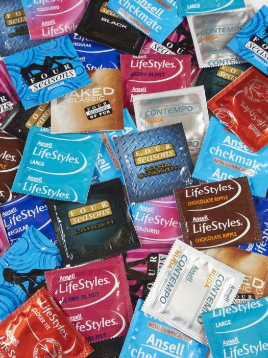 Condom Packets