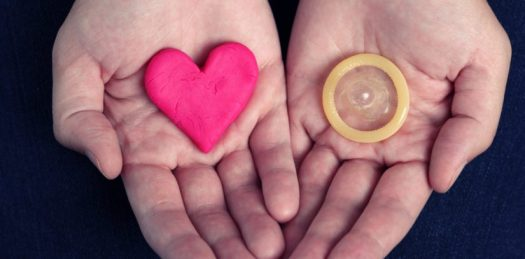 Hands with Love and Condoms