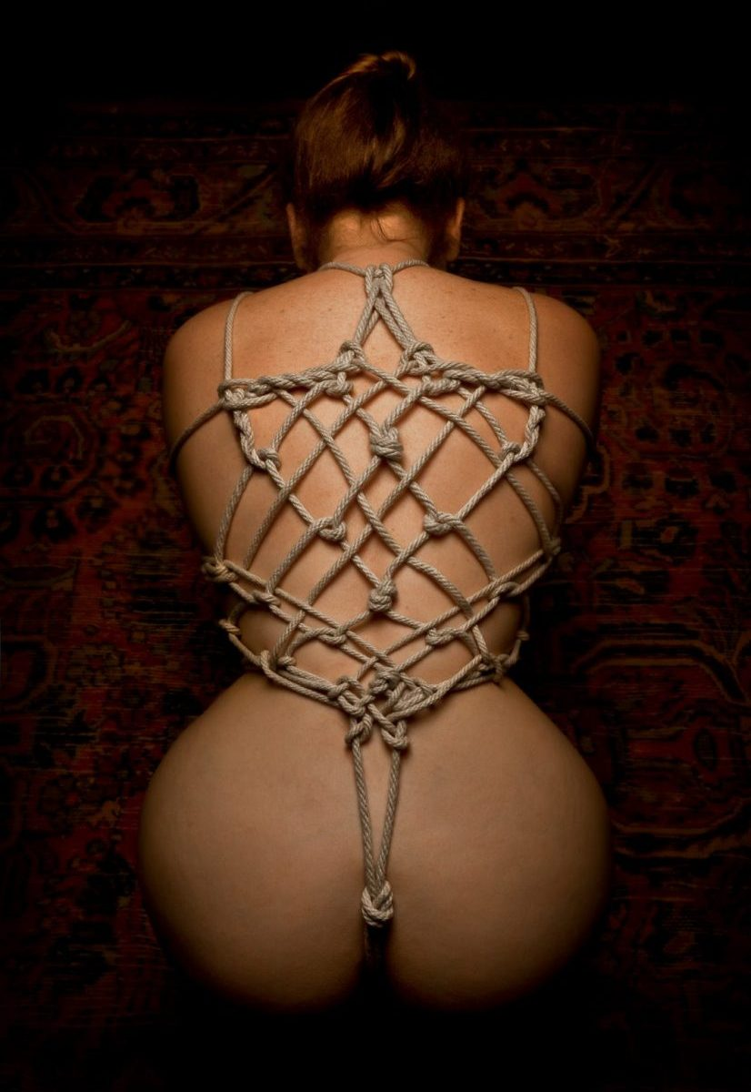 Shibari And Kinbaku Rope Bondage Model