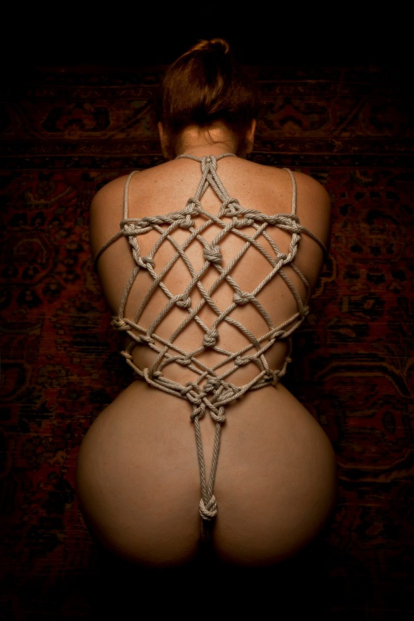 Japanese bondage rope technique