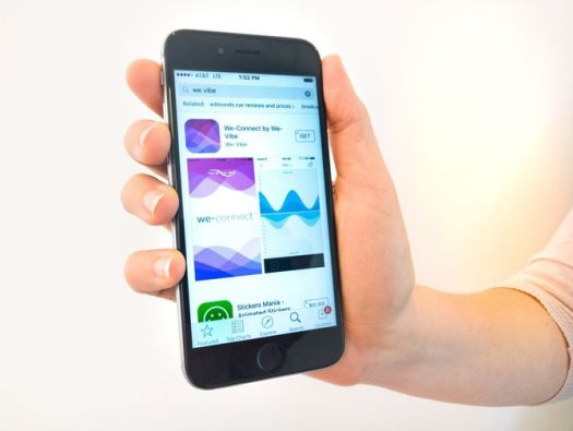 Use Smartphone with We-Vibe Application