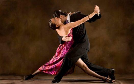 Couple Seduction Dancing
