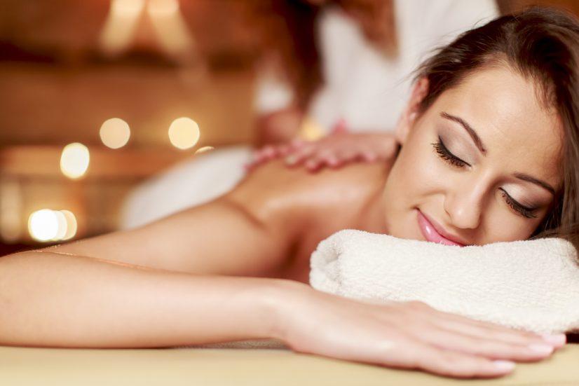 Woman Massage Relaxation Photo