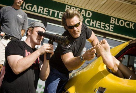 Quentin Tarantino Directing Photo
