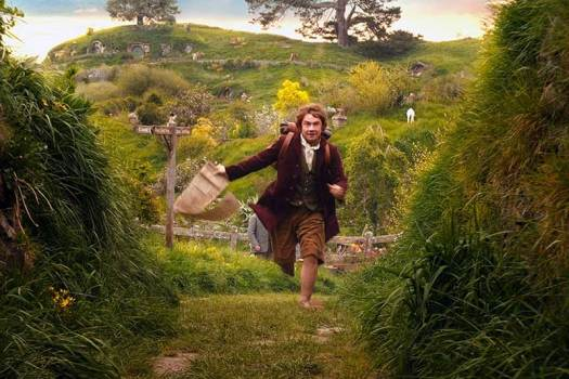 Hobbit in Green Grass Photo