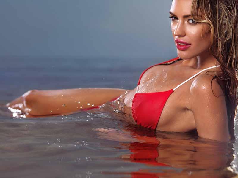 Red Bikini Woman Photo