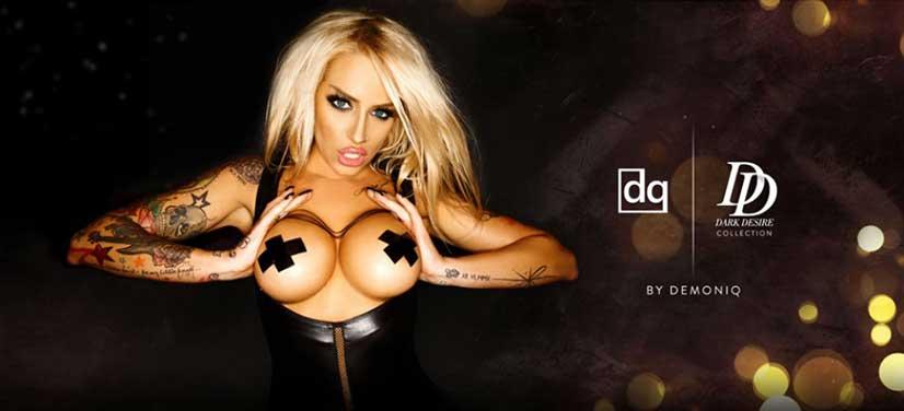 Demoniq Dark Desire BAnner Image
