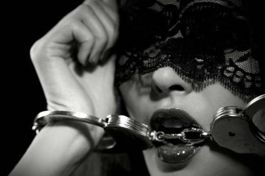 Women in Handcuffs and Blindfold For Sex Image