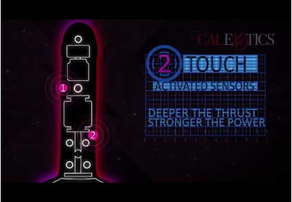 Sex Toy: Luxe Touch Sensitive Vibrator Sex Toy Motor Image