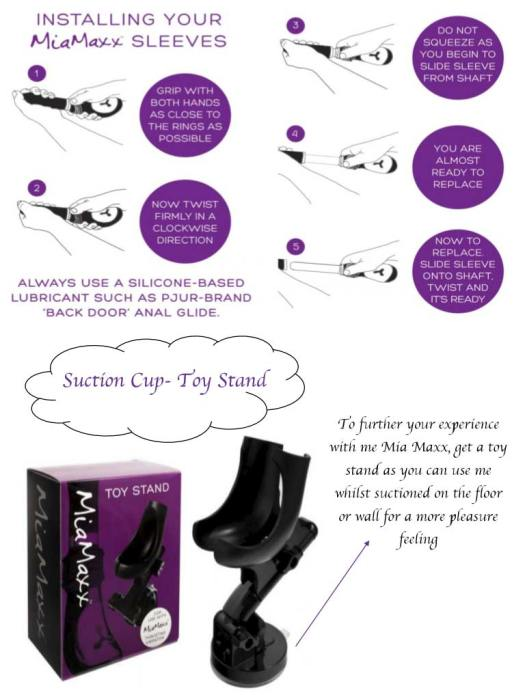 Mia Maxx Suction Cup Toy Stand Sex Toy Image