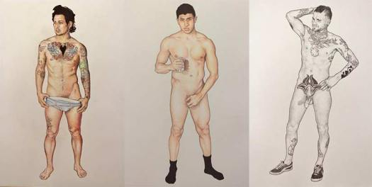Matthew Conway, Drawings Of Heterosexual Men