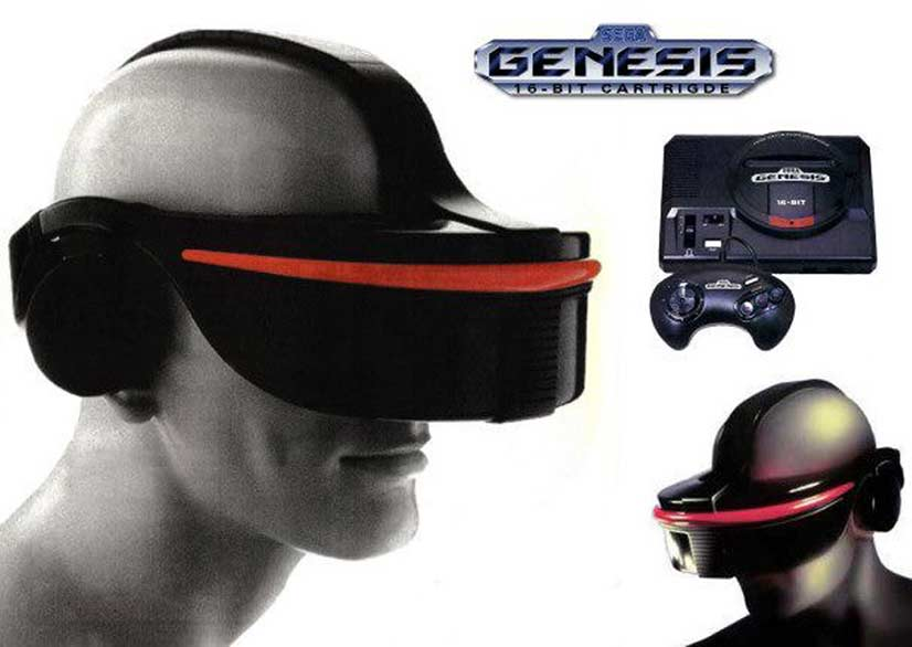 VR Headset By Sega