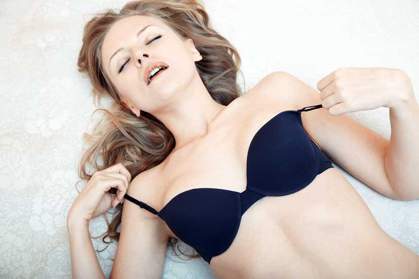 Woman Making Orgasm