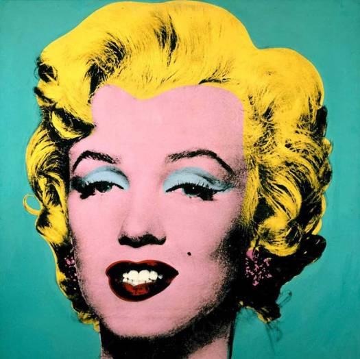 Pop art of Marilyn Monroe