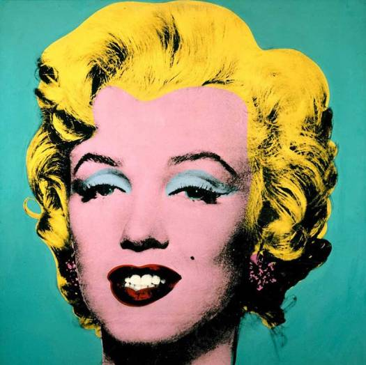 Pop art of Marilyn Monroe